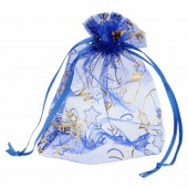 Gift-bag blue 10x14cm