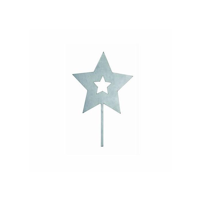 Metallic Star to stick 160mm