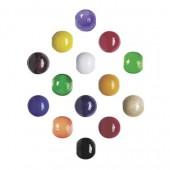 Perles en bois, mix multicolore, 12mm, 30 pcs
