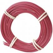 Rotin pour vannerie et décoration 1.7mm, rouge