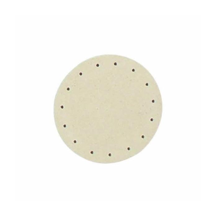 Wood bottom for wicker basket, round,  Ø10cm