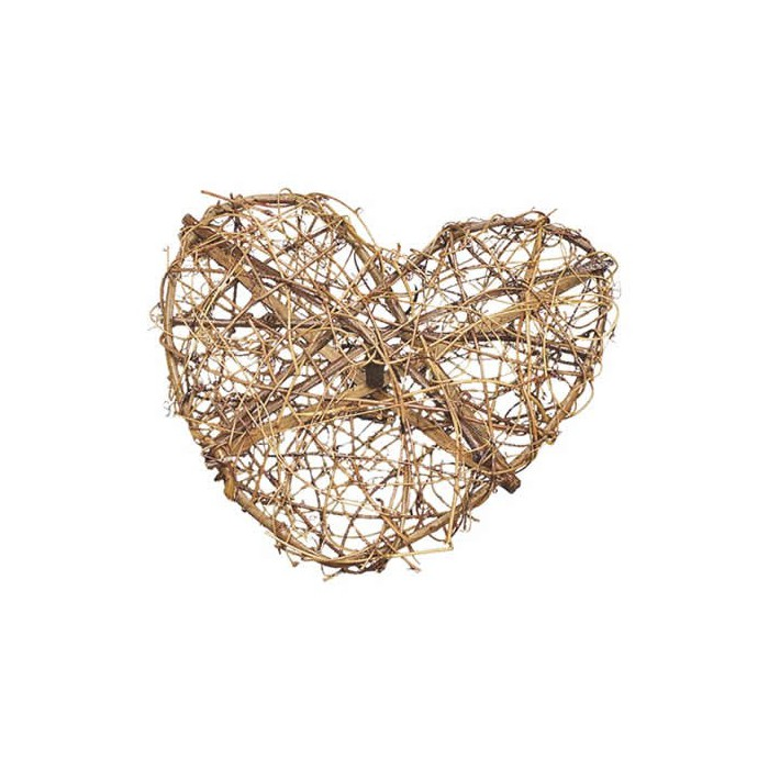 Grape vine heart 30cm