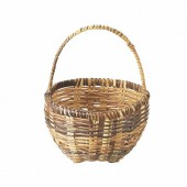 Basket round 10cm