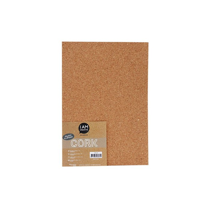 Cork self-adhesive sheet 1mm/A4